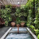 tường xanh cho spa