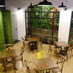 vườn tường cho quán cà phê